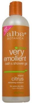 Unisex Alba Botanica Very Emollient Bath & Shower Gel - Island Citrus Shower Gel 1 pcs sku# 1790466MA Alba Island Citrus Bath