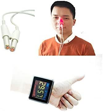 COZING LLLT Low Level Laser Therapy Device, 650nm Red Light Laser Therapy Wrist Watch Semicondcutor Laser Therapeutic Apparatus That Helps to Lower Hypertension Hyperglycemia Hyperviscosity Naturally