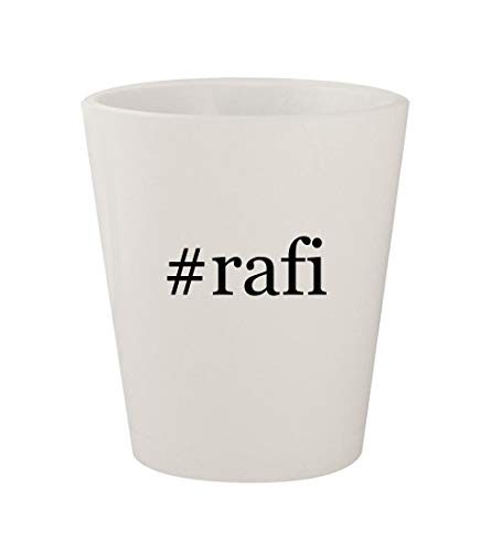 #rafi - Ceramic White Hashtag 1.5oz Shot Glass
