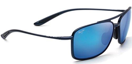 Maui Jim Unisex Kaupo Gap Matte Blue/Blue Hawaii One - Jim Maui Sunglasses Discount