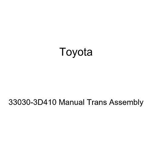 Toyota 33030-3D410 Manual Trans Assembly