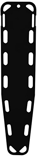Iron Duck 35850-P-Black Base Board Patient Transfer Spine Board with Speed Clip (Iron Duck)