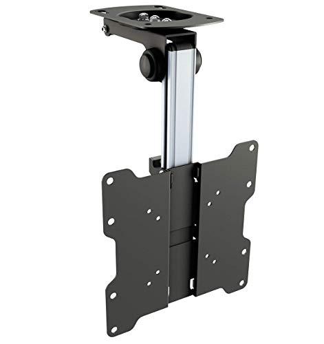 RICOO TV Ceiling Bracket Monitor Mount Tilt Swivel D0122 Bracket Universal...