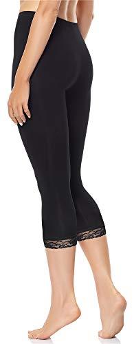 Merry Style Legging 3/4 avec Dentelle Femme MS10-224
