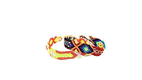 Green Mexican Bracelet - Tahal Bracelets Mexican Bohemian Friendship Bracelet Colorful and Handmade for Women 2 PCS