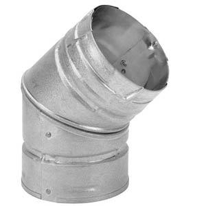 Cheap 174504 4″x 45 Degree Elbow Pellet Vent