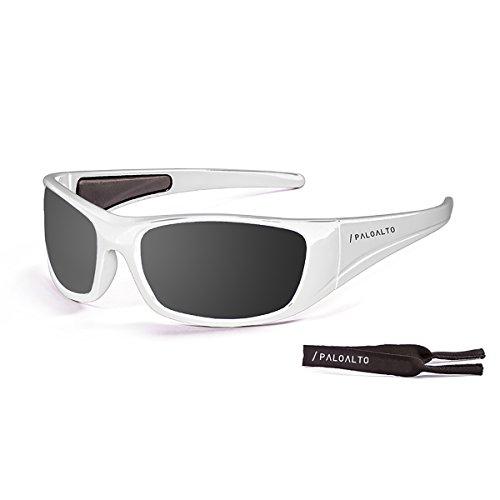 Paloalto Sunglasses P34002 Lunette de Soleil Mixte Adulte Blanc ... 19093271cf0d