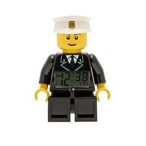 LEGO Despertador con luz Infantil con figurita de policía City 9002274 5