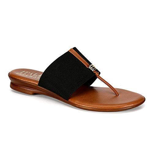 (ITALIAN Shoemakers Womens Sandals - Afia - Black (10))