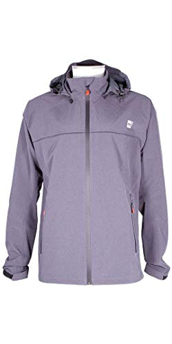 Red Paddle Co – SUP Stand Up Paddle Boarding – Mens Active Coat Jacket – Black – Easy Stretch Breathable Waterproof