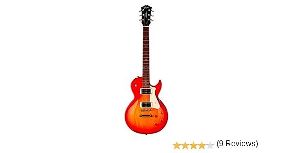 Cort CR100 - Guitarra eléctrica (calibre de cuerdas: 10-46), color ...