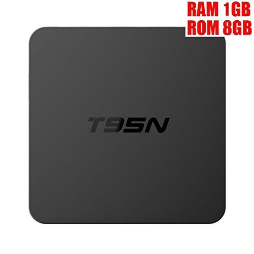 HONGYU T95X Android 6.0 TV BOX HD Amlogic S905X Quad Core 64bit 1GB / 8GB Wifi Ethernet LAN VP9 Ultra 4K 1080P EMMC Media Player