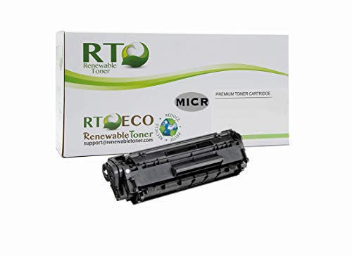 Renewable Toner Compatible MICR Toner Cartridge Replacement for HP 85A CE285A Laserjet Pro M1212, M1217, P1102