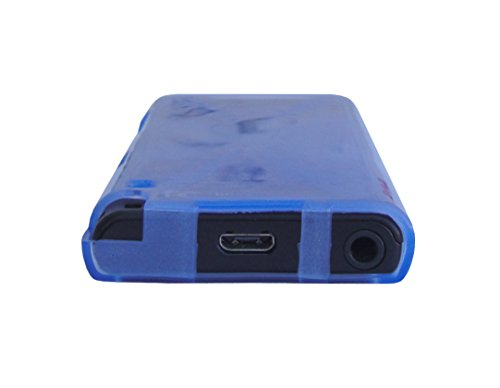 Smoke TPU Skin Cover Case for Sony Walkman NW-E393 NW-E394 Screen Protector