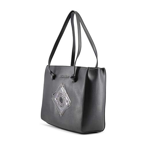 Women Shoulder Bag Rrp Genuine Black Jeans Designer Versace nPOx1vZP