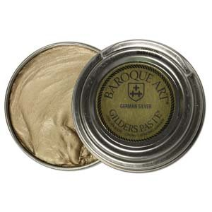 Baroque Art Gilders Paste - Highlight Metal, Wood and More ''German Silver'' 1 oz by Baroque Art