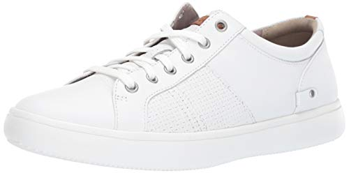 Rockport Men's Colle Tie Sneaker, White, 12 M ()