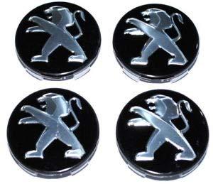 xinglong Llantas para Cubo de 4 Piezas Llantas para Cubo 60/56 mm para Peugeot 206 207 307 308 301 408: Amazon.es: Coche y moto