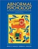 Abnormal Psychology Interactive, Sarason, Irwin G. and Sarason, Barbara R., 0130849545