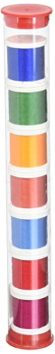 (YLI 20210-PC6 100wt Jacobean Rhapsody Collection 2 Silk Sampler Thread, 200m)