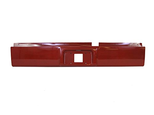 Rear Steel Roll Pan - Painted Flame Red Rear Steel Roll Pan 2002-2008 Dodge Ram 1500 / 2003-2009 RAM 2500 3500