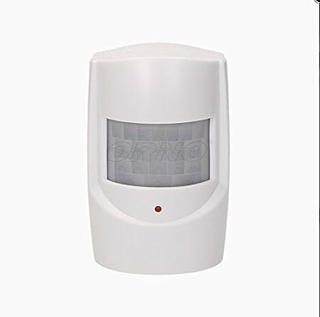 Detector de presencia por señal de radio, timbre para comercios, avisador de entrada, 120 metros: Amazon.es: Hogar