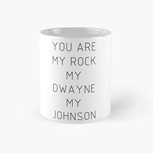 Army Mug You are my Rock my Dwayne my Johnson Mug - 11oz Mug - Features wraparound prints - Dishwasher safe - Made from Ceramic - Best gift for family friends