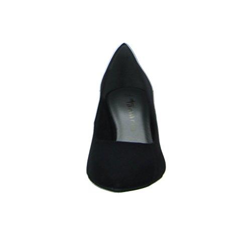 Tamaris22415 - Zapatos de Tacón Mujer Schwarz (Black)