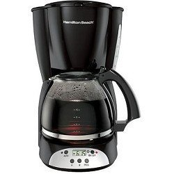 Hamilton Beach 12 Cup Programmable Coffeemaker Black