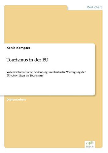 Tourismus in der EU  [Kempter, Xenia] (Tapa Blanda)