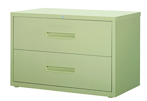 Office Dimensions Commercial 2-Drawer Lateral File, 42-Inch Wide, Putty