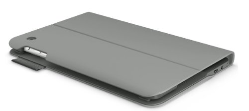 Logitech Ultrathin Keyboard Folio for iPad mini 3/ mini 2/ mini- Veil Grey