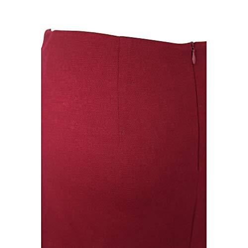Casual Crayon Irrgulier Couleur Sexy Morbuy Jupe Bleu Mi Unie Haute Longue Jupe Taille lgante Femme Jupe nq78RwfP86