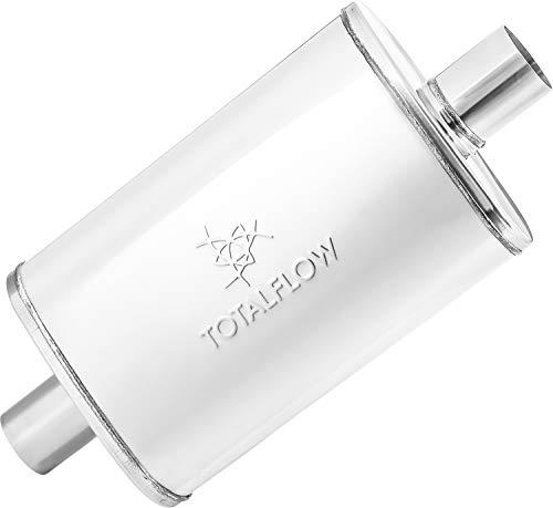 TOTALFLOW 33245 Straight Through Deep Tone Performance Muffler - 18