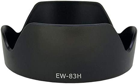 RONSHIN Camera Accessory-EW-83H Lens Hood for Canon EF 24-105mm f//4L is USM Lens