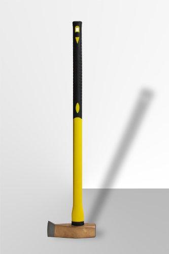 DEMA Spalthammer 3000g 90cm mit Fiberglas-Griff