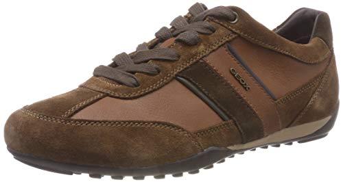 Geox Herren U Wells C Sneaker Braun (Browncotto C6003)