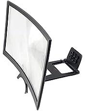 """Taloit 12/14 """"HD Telefoon Screen Vergrootglas, Gebogen Screen Vergrootglas Video Vergroting, Mobiele Telefoon Screen Expanders & Vergrootglas"""
