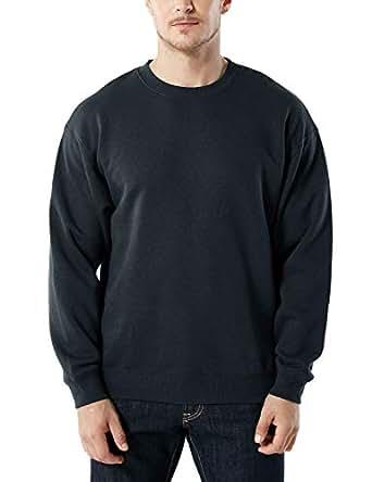 Tesla Men's Active Winter Fleece Sweatshirt YKL21-BLK