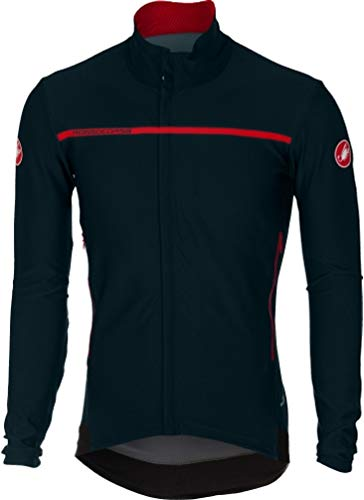 - Castelli Perfetto Long-Sleeve Jersey - Men's Dark Infinity Blue, L