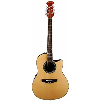 Ovation AB24-4 Acoustic-Electric Guitar, Applause Balladeer Cutaway Dreadnought