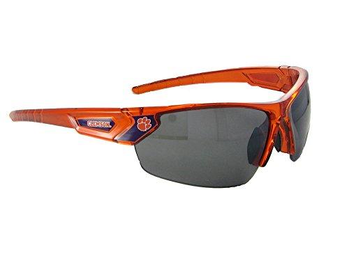 Clemson Tigers CU Orange Transparent Sunglasses - Clemson Sunglasses