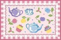 New - Tea Party 39''x58'' - OLK-056 3958 by Olive Kids