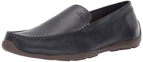- Tommy Bahama Men's Orion Driving Style Loafer, Navy Tumbled Leather, 13 D US