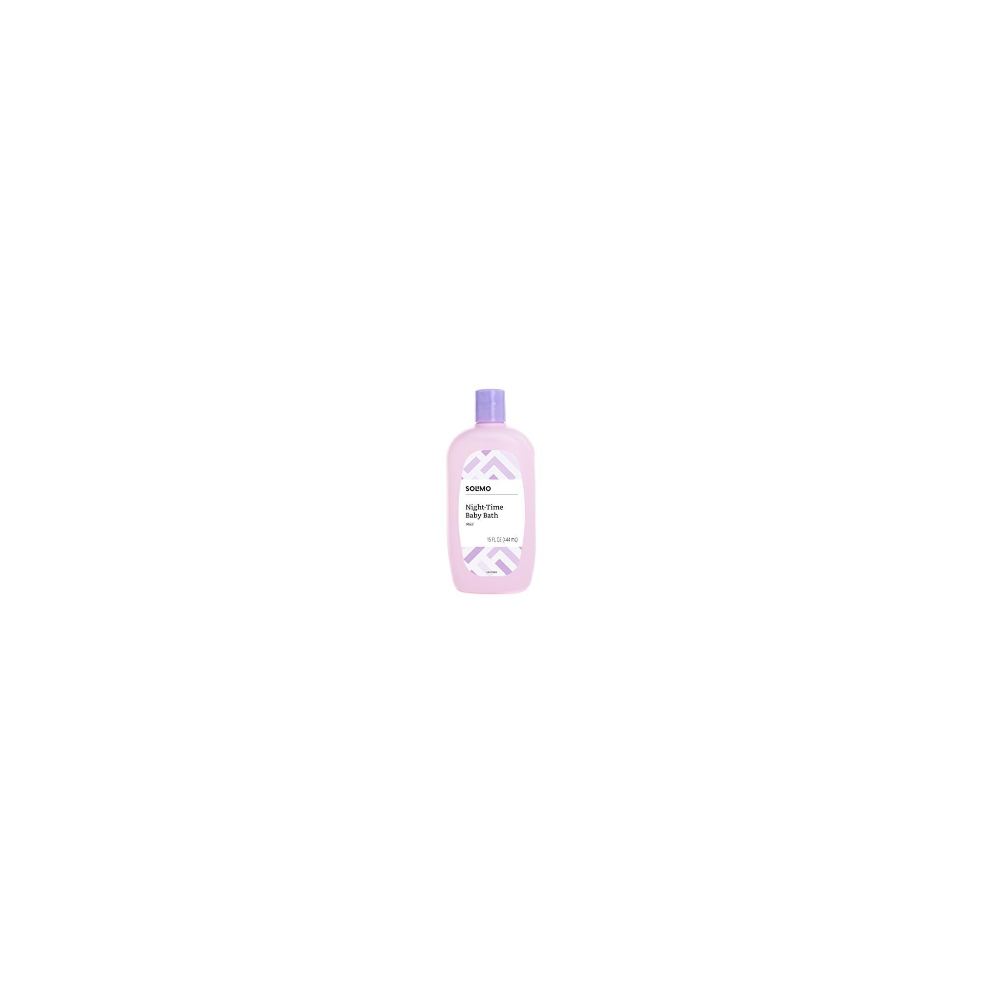 Amazon Brand – Solimo Night-Time Baby Bath, 15 Fluid Ounce