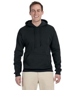 Jerzees 8 oz. NuBlend 50/50 Pullover Hood, Black - X-Large