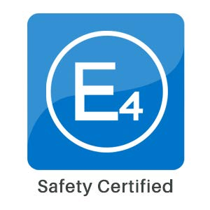 5 Seat Belt Extension - E-Mark Safety Certificate Buckle Up to Drive Safely Black, 7//8 Tongue Width