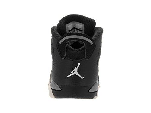 Nike Unisex Baby Jordan 6 Retro BT Sneaker Black (Black (Schwarz / Weiß-Cool Grey))