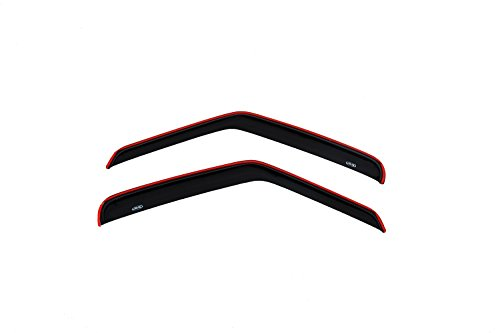 Auto Ventshade 192077 In-Channel Ventvisor Side Window Deflector, 2-Piece Set for 1992-2006 Ford Econoline Vans ()
