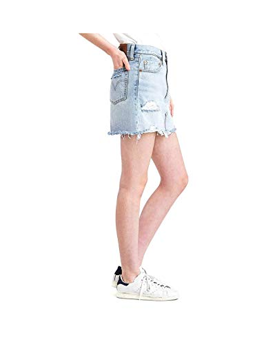 Levis Damage Skirt Skirt Levis Denim Deconstructed q8Ecp